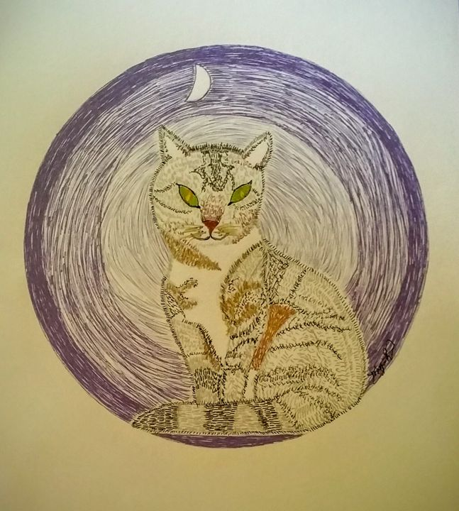 Kitty Cat - Intuitions~Prints~Publications