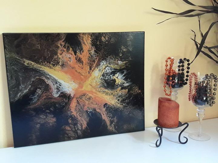 Galaxy of Gold - Crystal Barrow