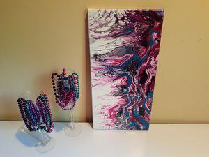 Pink & Teal Coral