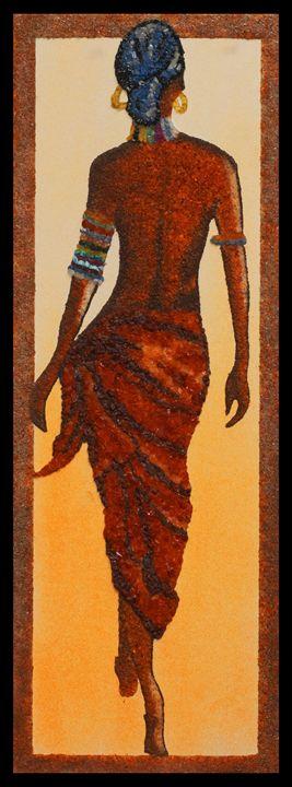 Samira - Mozambique Gemstone Artwork Gallery