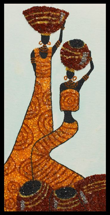 African style - Mozambique Gemstone Artwork Gallery