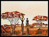 African Savanna, 400 X 500 cm