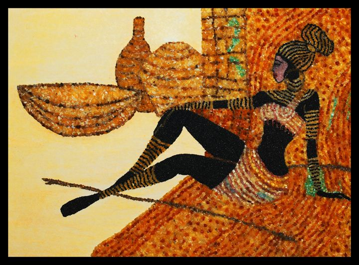 Tereza - Mozambique Gemstone Artwork Gallery