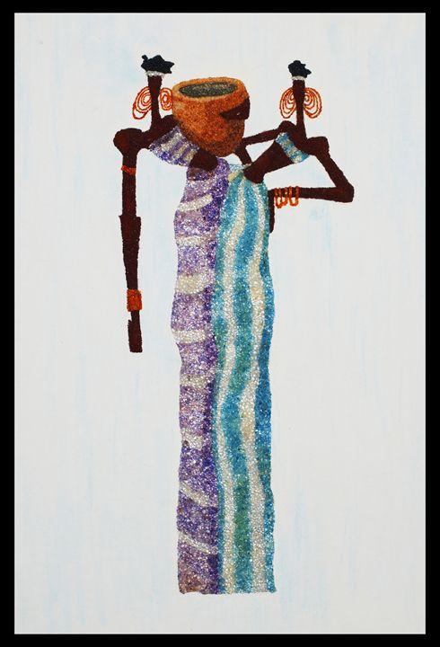 Twins Baguiras - Mozambique Gemstone Artwork Gallery