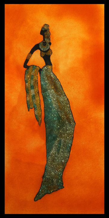 Precious Lady - Mozambique Gemstone Artwork Gallery