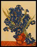 Irises [V. Van Gogh], 400 X 500 cm