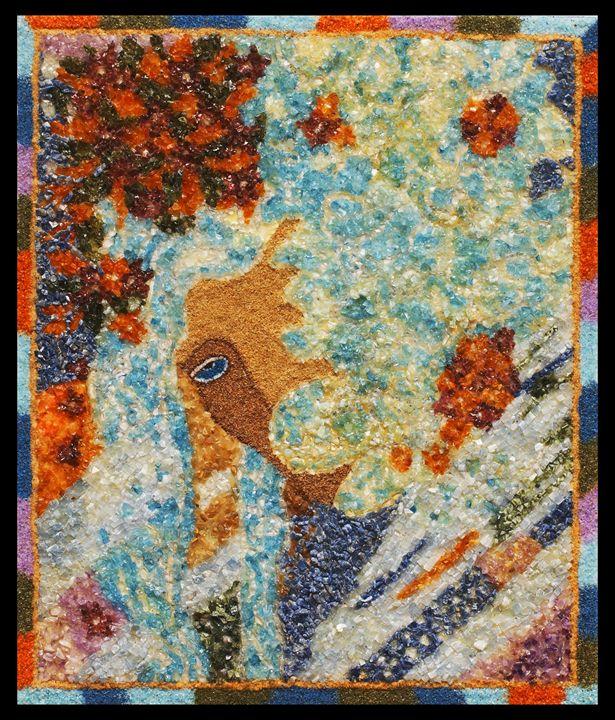 Hide of you - Mozambique Gemstone Artwork Gallery