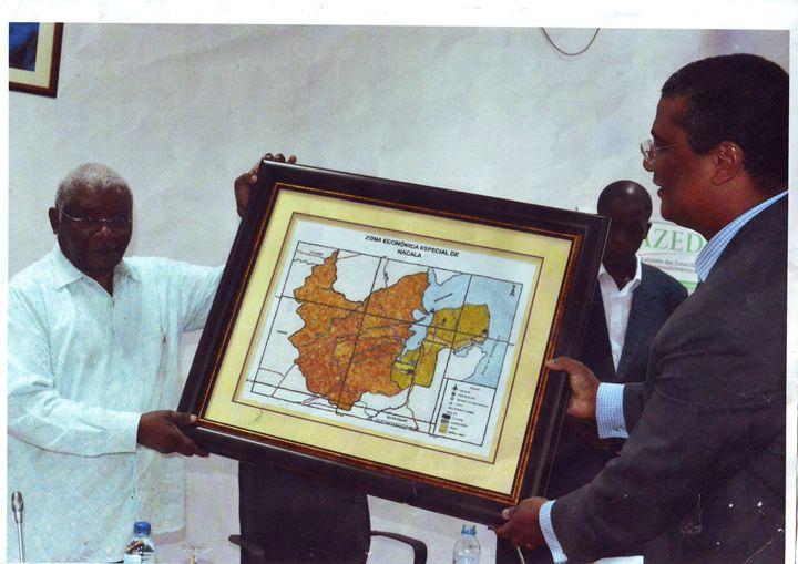 Zona Economica Especial de Nacala - Mozambique Gemstone Artwork Gallery