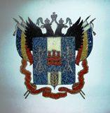 Brasão da Russia 1, 500 x 500 cm