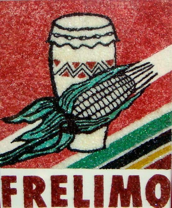 Logotipo da Frelimo - Mozambique Gemstone Artwork Gallery