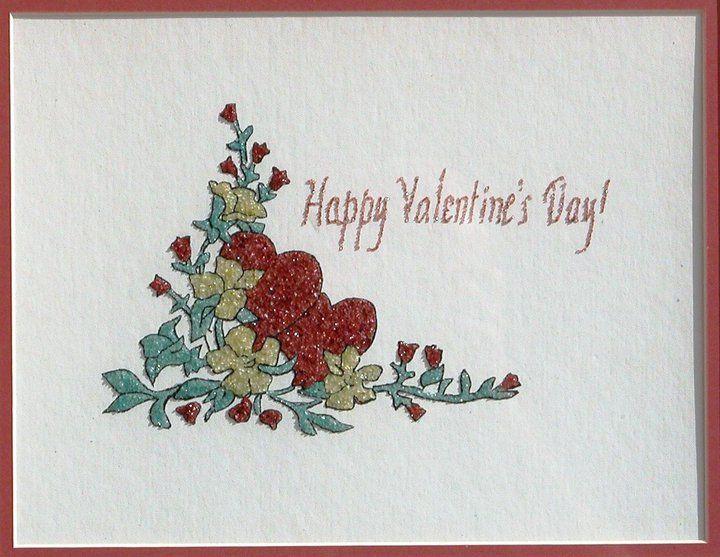 Happy Valentines Day - Mozambique Gemstone Artwork Gallery