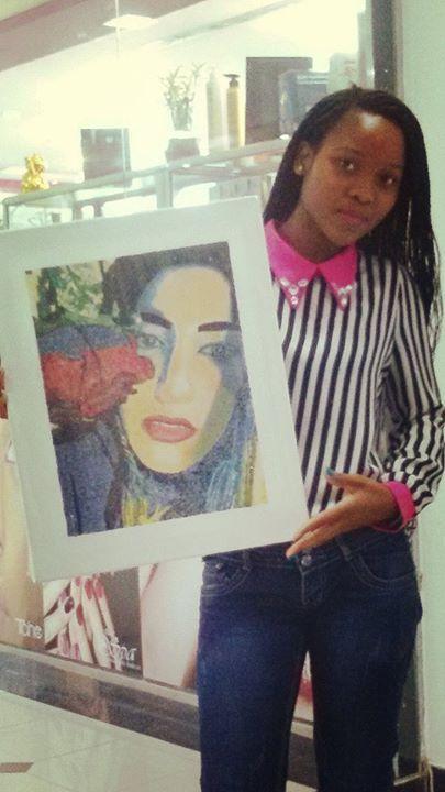 Custom Portrait - Mozambique Gemstone Artwork Gallery
