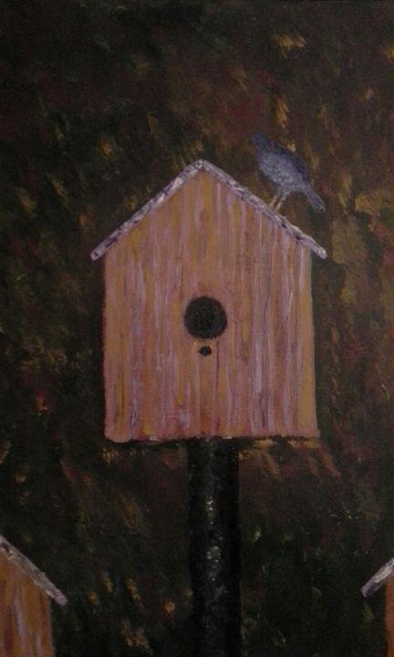 bluebird coming home - Matthew Dyson