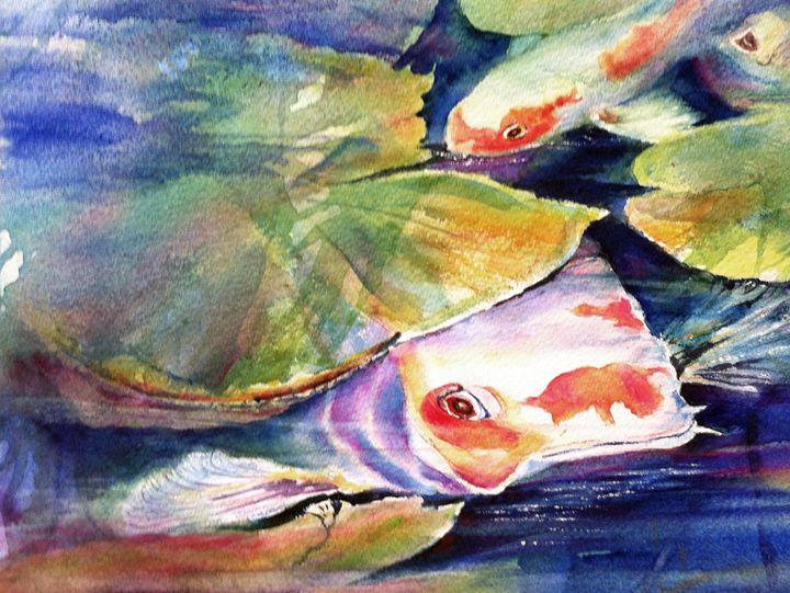 Moby Koi - MB Watercolors