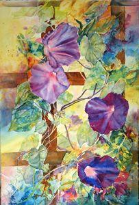 Purple Glories - MB Watercolors
