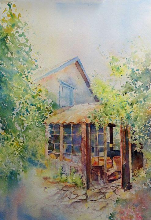 Studio in Frayssinet - MB Watercolors