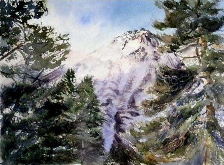Black Mountain - MB Watercolors