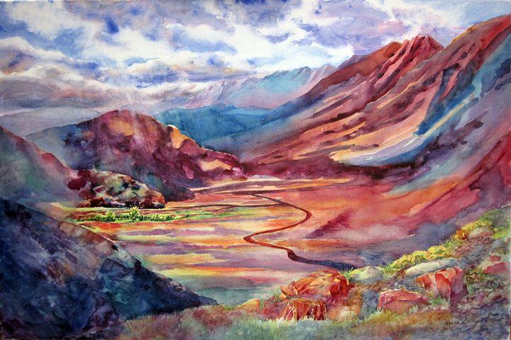 Desert Valley - MB Watercolors