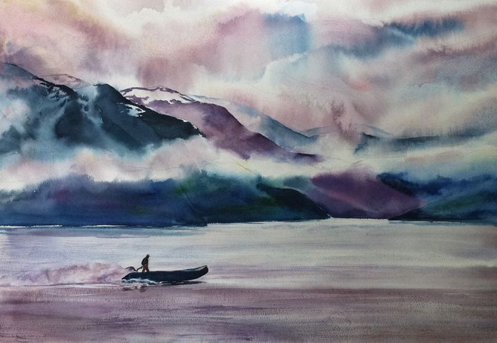 Edge of the Storm - MB Watercolors