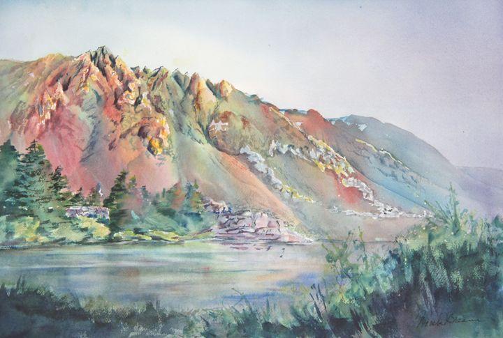 Sierra Dawn - MB Watercolors