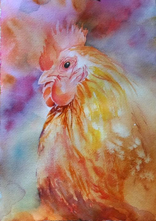 Irrepressible - MB Watercolors