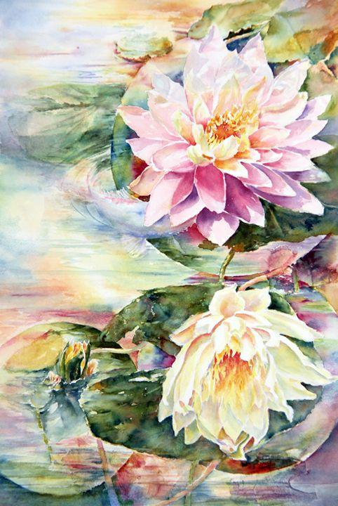 Sneaky Koi - MB Watercolors