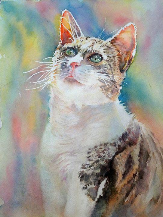 Glorious Shiva - MB Watercolors