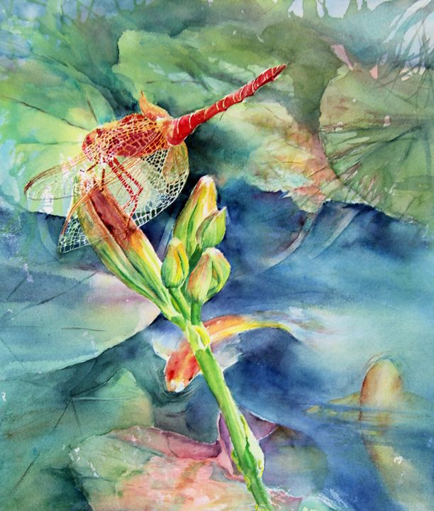 Dragonfly - MB Watercolors