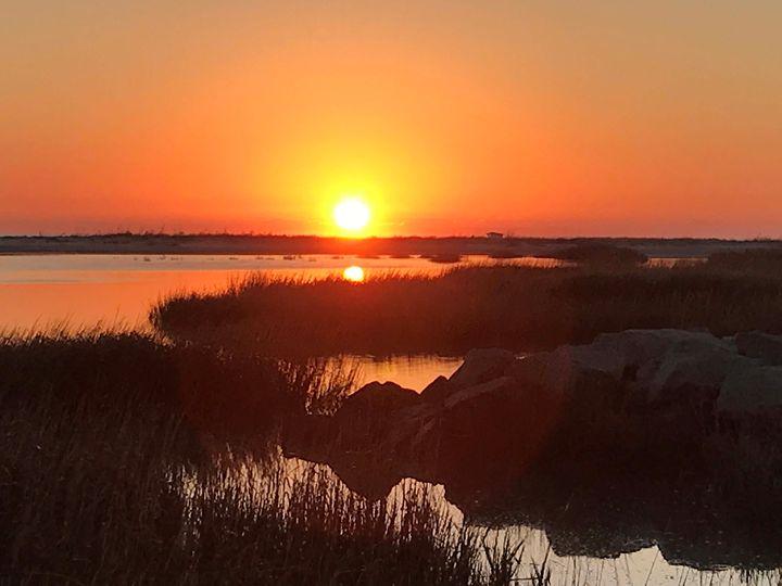 Morning on Mitchelleville beach, SC - Wendy Theisen Halsey Photography