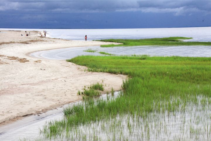 Storm Coming on the beach - Wendy Theisen Halsey Photography