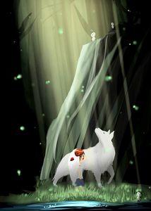 Young Mononoke & Wolf