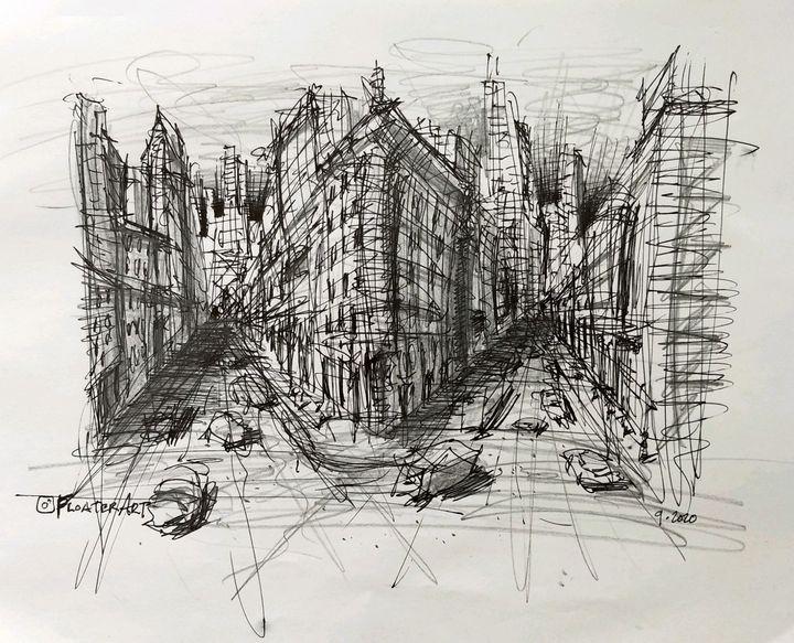 2 Street City Scrapble - Floater