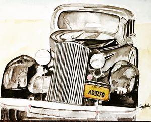 Vintage car -  Sheetamiarts