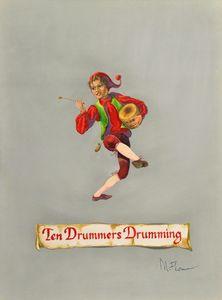 Ten Drummers Drumming