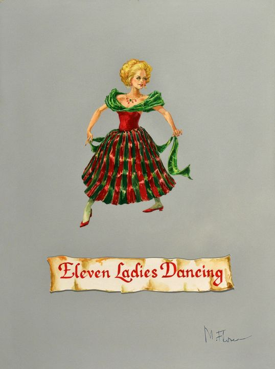 Eleven Ladies Dancing - Miguel Flores