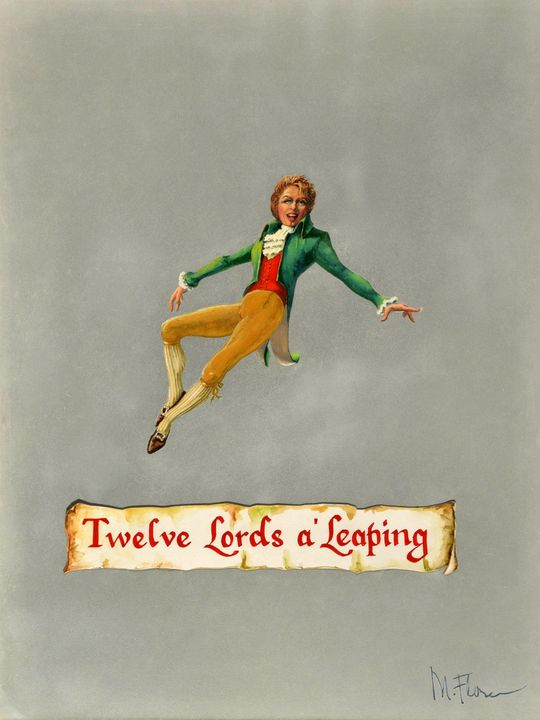 Twelve Lords a'Leaping - Miguel Flores