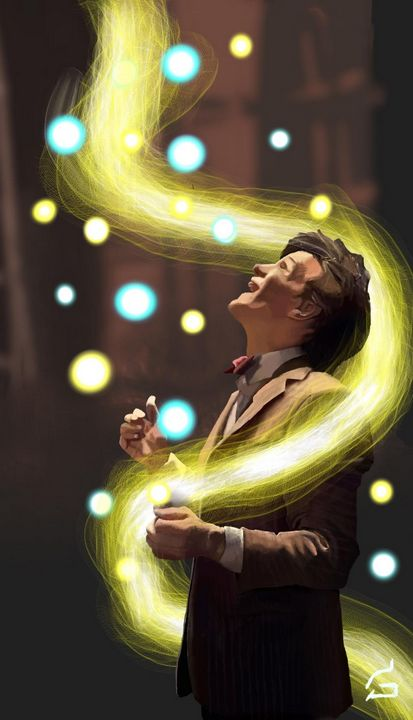 11th doctor - Doctor Who digital art - GeorgeS