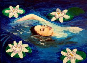Original acrylic painting - - LauraAna P.