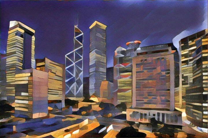 honk kong the city of my heart - John Parabellum