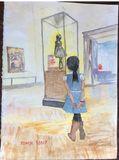 Girl visits Boston MFA