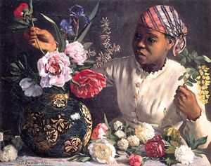 Bazille_Jean_Frederic_African_woman_