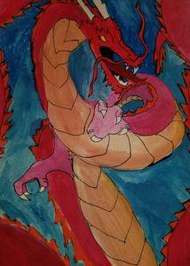 fire eastern dragon