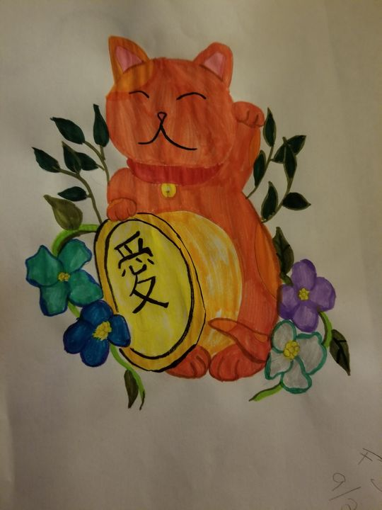 lucky cat - Faith