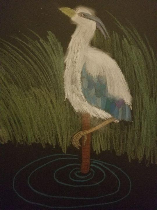 Blue heron - Faith