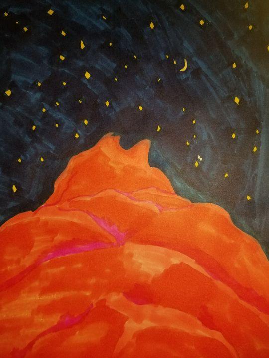 nighttime view - Faith
