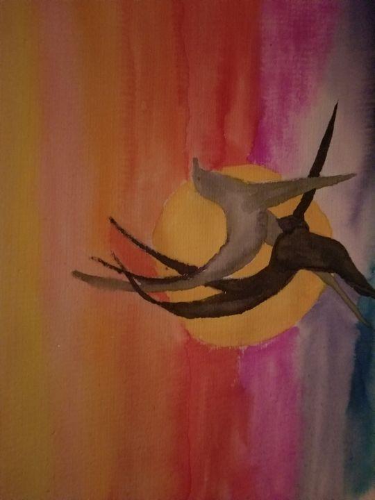 sunset dancing - Faith