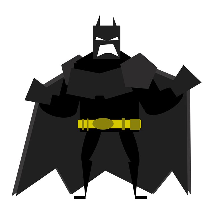 Batman: The Dark Knight - Graphic Design