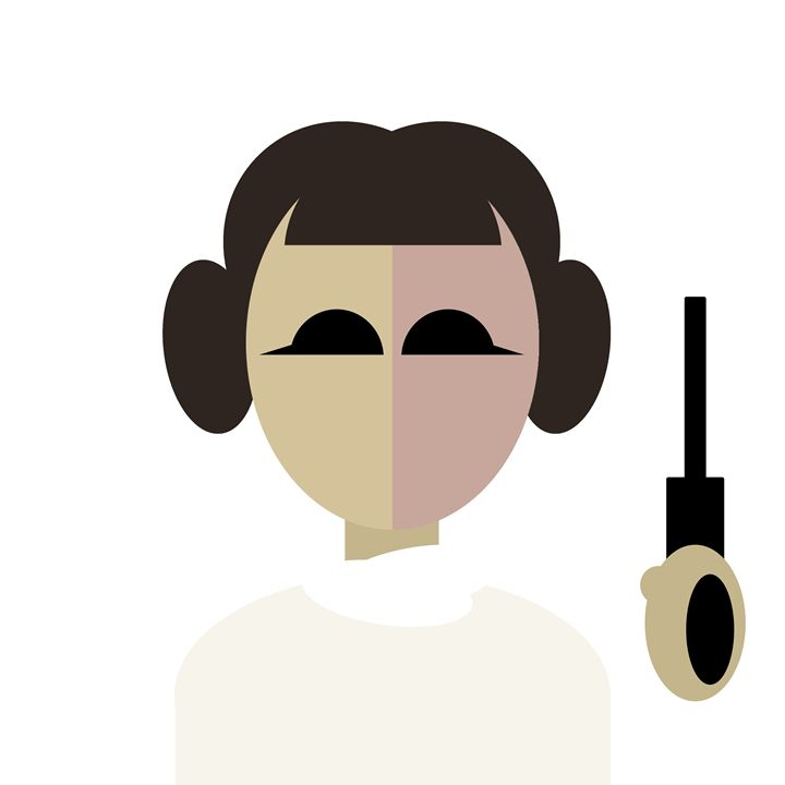 Princess Leia - Graphic Design