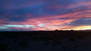Colorado colored sky's