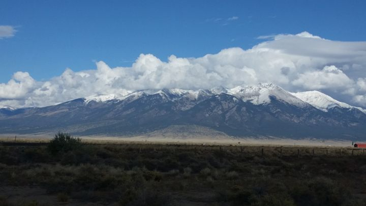 Cloud caped mountain - Zero